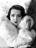 Colleen Moore on a Furry Cloth Coat Portrait Photo by  Movie Star News
