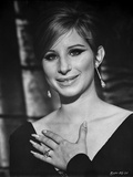 Barbra Streisand Portrait With Hand On Chest Photo by  Movie Star News