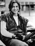 Judd Nelson sitting in Sleeveless checkered Photo by  Movie Star News