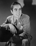 Tyrone Power 37 - Photograph Hollywood Print Photo by  Movie Star News