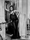 Barbra Streisand Posed In A Sexy Black Dress Photo by  Movie Star News