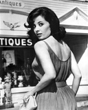 Portrait of Barbara Parkins Looking at Back Photo by  Movie Star News