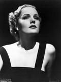 Frances Farmer on Dark Top Chin Up Portrait Photo by  Movie Star News