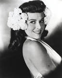Paulette Goddard Posed with Flower on Head Photo by  Movie Star News