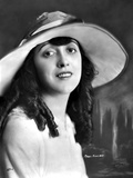 Mabel Normand on a Hat and Slightly smiling Photo by  Movie Star News