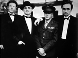 Marlon-GF Brando Picture with a Police Officer Photo by  Movie Star News
