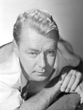 Alan Ladd Looking Straight in Close Up Portrait Photo by  Movie Star News