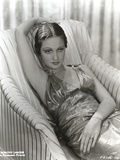 Dorothy Lamour in Black and White Portrait Photo by  Movie Star News