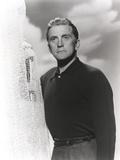 Kirk Douglas in Black Long Sleeve Portrait Photo by  Movie Star News