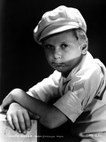 Jackie Cooper Leaning on Table With Cap Photo by  Movie Star News