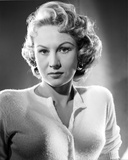 Virginia Mayo Posed in White Sweater Photo by  Movie Star News