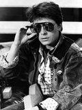 Michael J Fox in Jacket With Sunglasses Photo by  Movie Star News