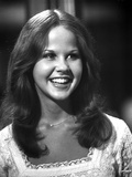Linda Blair smiling in Classic Portrait Photo by  Movie Star News
