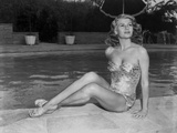 Rita Hayworth Posed in a Swimming Suit Photo by  Movie Star News