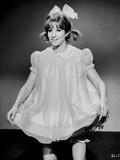 Barbra Streisand smiling In White Dress Photo by  Movie Star News