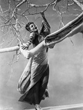Rita Hayworth Holding on a Tree Branch Photo by  Movie Star News