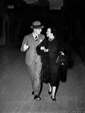 Fred Astaire Walking with Woman in Dress Photo by  Movie Star News