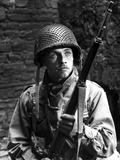 Mark Hamill in Military Uniform With Rifle Photo by  Movie Star News
