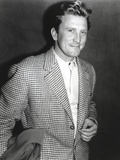 Kirk Douglas in Checkered Formal Outfit Photo by  Movie Star News