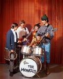 Monkees in Black With White Background Photo by  Movie Star News