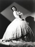 Loretta Young Traditional Balloon Gown Photo by  Movie Star News