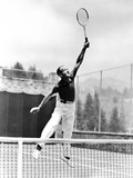 Fred Astaire Playing Tennis in White Pants Photo by J Miehle