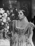 Elizabeth Taylor Portrait in Formal Dress Photo by Bob Penn