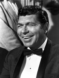 Claude Akins in Black Close Up Portrait Photo by  Movie Star News