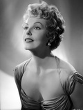 Arlene Dahl Looking Sideways in Portrait Photo by  Movie Star News