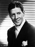 Rudy Vallee Grinning in Suit and Necktie Photo by  Movie Star News