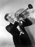 Harry James in Black Suit With Trumpet Photo by  Movie Star News