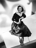 Barbara Hale on a Dress sitting Portrait Photo by  Movie Star News
