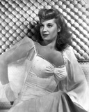 Dinah Shore Posed in See through Blazer Photo by  Movie Star News