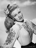 Ginger Rogers Posed with Classic Hairdo Photo by Hal McAlpin