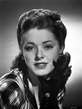 Eleanor Parker on a Printed Top Portrait Photo by  Movie Star News