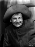 Wallace Beery smiling in Cowboy Outfit Photo by  Movie Star News
