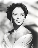 Dorothy Dandridge Looking Away in Classic Photo by  Movie Star News