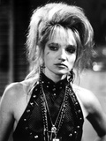 Ellen Barkin Portrait in Black and White Photo by  Movie Star News