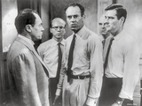 Twelve Angry Men Movie Scene in Classic Photo by  Movie Star News