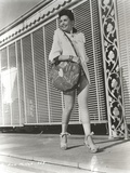 Ann Miller Walking in Classic Portrait Photo by  Movie Star News