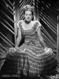 Maureen O'Hara in Black and White Gown Photo by ER Richee
