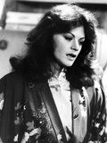 Meg Foster Portrait wearing Floral Robe Photo by  Movie Star News