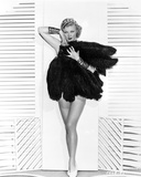 Ginger Rogers Covering Fur Coat Portrait Photo by  Movie Star News
