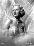 Eleanor Parker on a Bridal Gown Portrait Photo by  Movie Star News