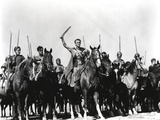 Kirk Douglas Ridding Horse Fighting Scene Photo by  Movie Star News