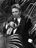 Albert Finney in Black Suit With Bottle Photo by  Movie Star News