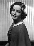 Nancy Carroll Portrait in Plaid Blouse Photo by  Movie Star News