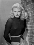 Ginger Rogers Posed wearing Black Dress Photo by Bert Six