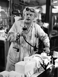 Christopher Lloyd in Lab Gown Portrait Photo by  Movie Star News