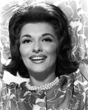 Nancy Kovack Portrait in Floral Blouse Photo by  Movie Star News